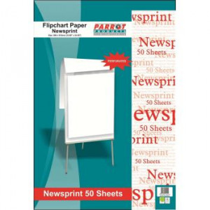 Parrot Flipchart Newsprint Paper 50 Sheets (860*610mm)