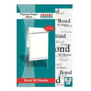 Parrot Flipchart Paper Bond 50 Sheets (860*610mm)