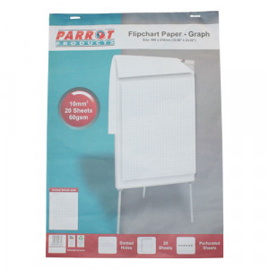Parrot Flipchart Graph Paper 20 Sheets (860*610mm)