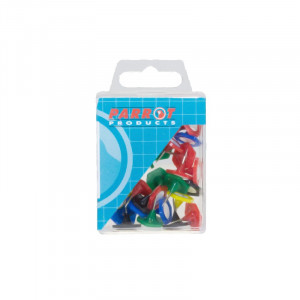 Parrot Hexagonal Pins (Boxed 30 Assorted)