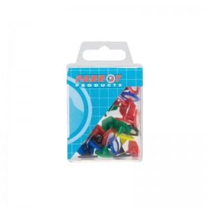 Parrot Hexagonal Pins (Boxed 30 Assorted)