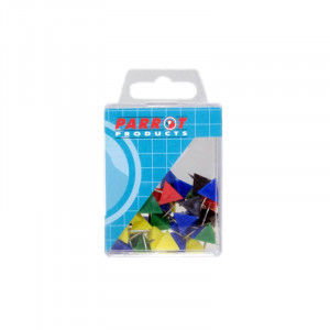 Parrot Pyramid Pins (Boxed, 30 Assorted)