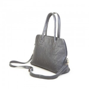 Mirelle Genuine Leather Small Tote with protector feet