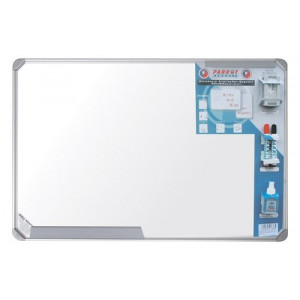 Parrot Slimline Whiteboards - Magnetic 600*450MM