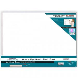 Parrot Write 'n Wipe Plastic Frame (540*420MM)