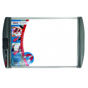 Parrot Whiteboard Slimline Magnetic White 600*450mm
