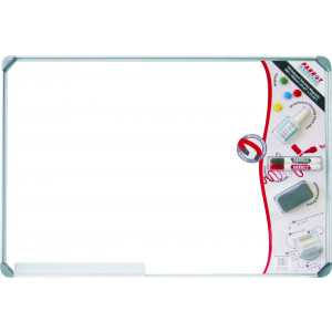 Parrot Whiteboard Slimline Magnetic - White 900 * 600mm