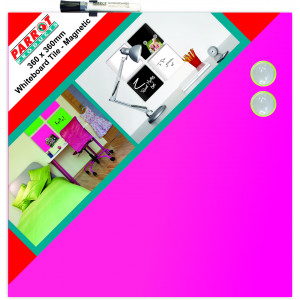Parrot Whiteboard Magnetic Tiles 360*360mm