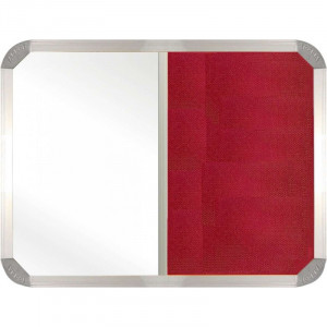 Combi Boards Non-Magnetic 2000*1200mm (Burgandy)