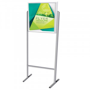 Parrot Poster Frame Stands - Double Sided A2 Landscape