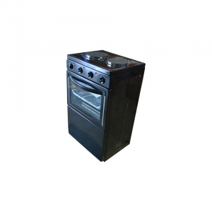 SUPERIOR 2 PLATE COOKER - BLACK - C200