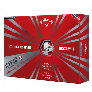 Callaway Chrome Soft Truvis Red (Per Dozen)