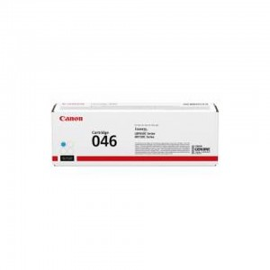Canon 046C Laser Toner Cartridge Cyan : Cartridge 046 C (LBP 65x Series,MF73x Series = Approx 2300 pages)