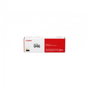 Canon 046Y Laser Toner Cartridge Yellow: Cartridge 046 Y (LBP 65x Series,MF73x Series = Approx 2300 pages)