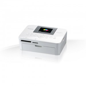 Canon CP1000 White B2C SELPHY Compact Photo printer.Dye-sublimation thermal transfer printing system.Maximum resolution: 300 x 300 dpi.