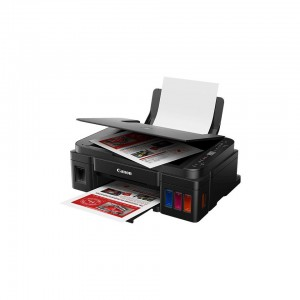 Canon IJ MFP PIXMA G3411+ICASA LABEL - Colour printer, copier, scanner & Wi-Fi enabled. Print & Scan using Smart devices and the Cloud. A4, A5, B5, 10x15cm, 13x18cm, Envelopes - Letters & Legal, Plain Paper: 64 - 105g/m2, Canon photo paper: up to 275g/m2