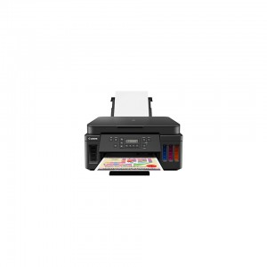 Canon PIXMA G6040 Refillable ink tank printer delivering high yield, quality and functionality at a low cost per page.