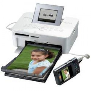 Canon - SELPHY CP1000 White Photo Printer