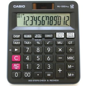 CASIO MJ - 120 CALCULATOR