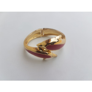 Charm Open Bangle Bracelet