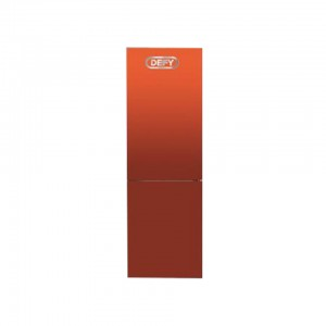 Defy Double Door Orange Fridge/ Freezer Combination DAC563O