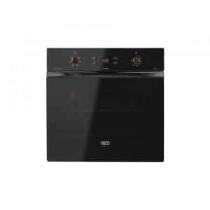 Defy DBO 478 Slimline Multifunction Eye-Level Mirror Black Oven
