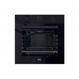 Defy 60cm Black Slimline Oven - DBO483  Eye-Level Static