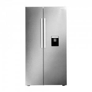Defy DFF437 559L White Side BY Side Fridge F740 GMG (V0 91cm WD)