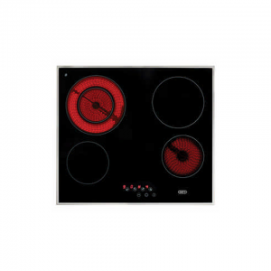 Defy 60cm Touch Control Stainless Steel Electric Hob - DHD394