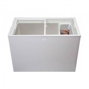 DEFY C-365 CHEST FREEZERS GLASS TOP White 254L DMF488