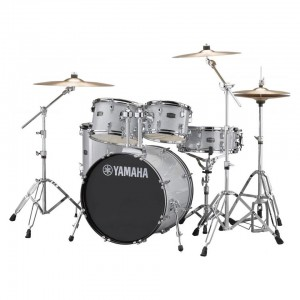 Drumset without cymbal silver-Rydeen