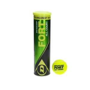 Tin of Dunlop Tennis Balls