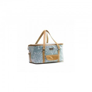 Large Cooler Bag - Birds In The Tree - Turquoise