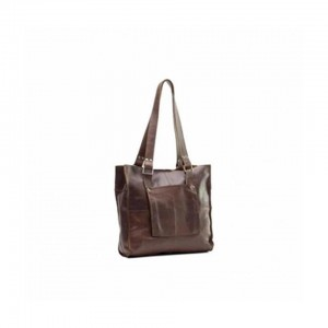 Emily Louise Tote Handbag Small- Tabacco Leather