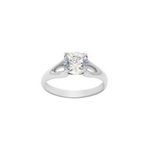 Silver Split Shank Ring