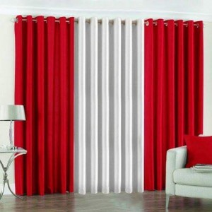 Plain Readymade Eyelet Curtains