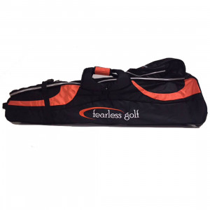 Fearless Deluxe Travel Cover (Black/Orange)