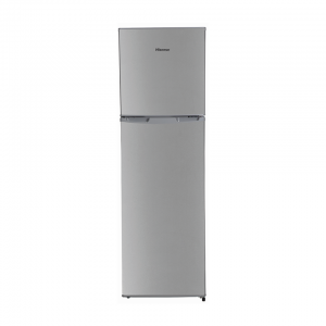 Hisense 220 litre Top Freezer Metallic Fridge H220TTS