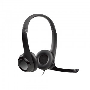 H390 USB COMPUTER HEADSET With NOISE CANCELING MIC,Enhanced digital audio and in-line controls