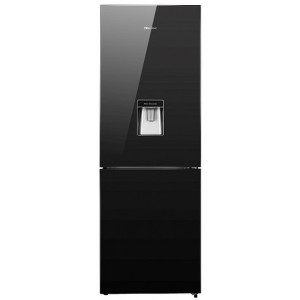 Hisense H420BMIWD 320 L Mirror Bottom Freezer with Water Dispenser