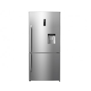 Hisense 610 L Bottom Freezer with Water Dispenser H610BIWD