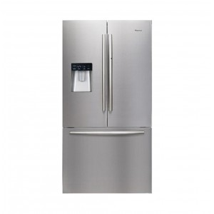 HISENSE H720FSBWD 720L BLACK FRENCH DOOR STAINLESS FRIDGE