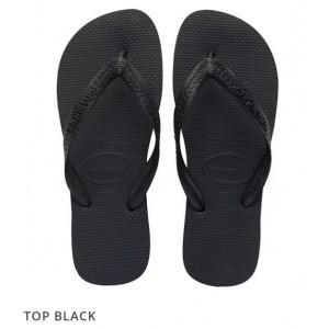 Havaianas Top Black (Size 3-12)
