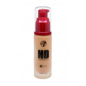 W7 Hd Foundation (Natural Beige)