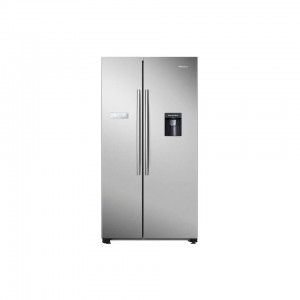 Hisense 568L Stainless Steel Side by Side Fridge - H740SS-WD