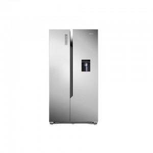 Hisense H670SSWD Side by Side LED A+ Alarm Refrigerator