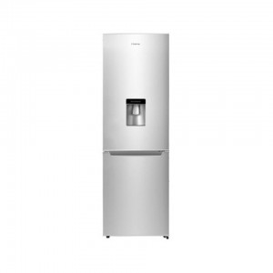 HISENSE INOX 269L BOTTOM REFRIGERATOR WITH WATER DISPENSER