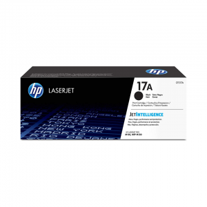 HP 17A BLACK TONER CARTRIDGE FOR LASERJET M102 M130 (1600 PAGE YIELD)