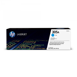 HP 305A CYAN TONER CARTRIDGE FOR LASERJET PRO M300 SERIES