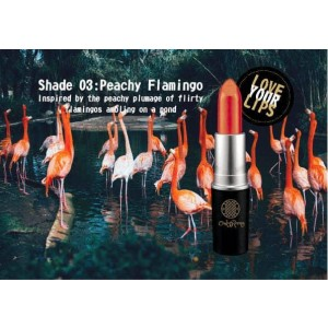 Peachy Flamingo lipstick PF01